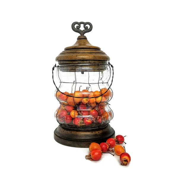 Exclusive Terrarium, Apothecary, Cannister, Cookie Jar, Wishing Well, Wedding, Guest Book, Container, Display Piece, Wedding Shower, Gift