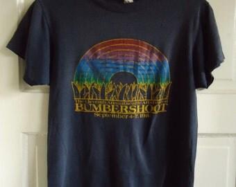 Vintage 1981 BUMBERSHOOT T Shirt sz XS