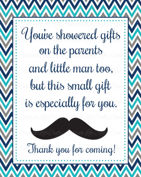 Baby shower printable thank you favor sign printable baby shower il570xn solutioingenieria Image collections