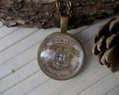 Harry potter necklace, hogwarts,Christmas offer