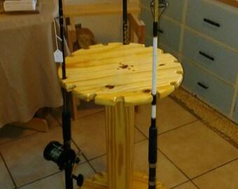 Circlular Fishing Rod Rack