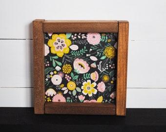 Vintage Garden - Mini Wood Sign