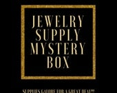 Jewelry Making Supplies Mystery Box - Supplies Grab Bag - Surprise Box