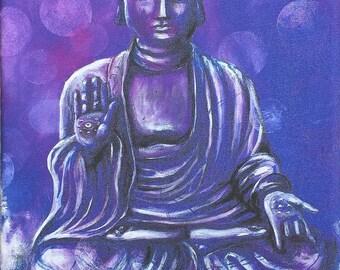 A4 Serenity Buddha - canvas
