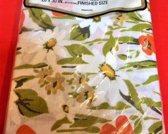 Morgan Jones Cotton Pillowcases, new/old stockRetro Look for spring