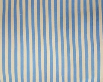 Fabric Finders - Blue and White Stripe