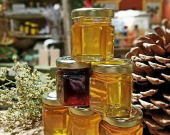 4 pack  A Honey Tasting  --4 sets of  6 Varieties of Honey's from the Hive Ohio Proud