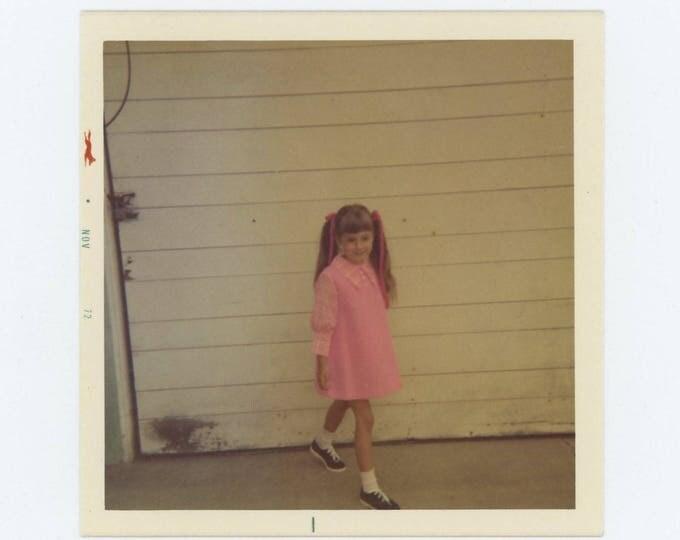 Vintage Snapshot Photo: Jamie, 1972 (73556)