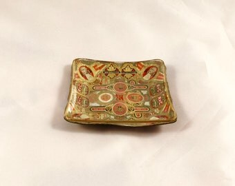 Vintage Rare One-Of-A-Kind Handmade Ashtray - Made in Germany