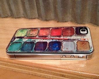 WATERCOLOR Set IPHONE 6 CASE iPhone 6S paint iPhone 6 Plus case palette iPhone 5S cover iPhone 5C case, iPhone 7 case