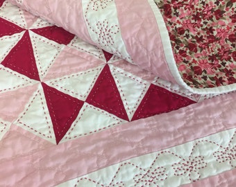 Meadows - Hand Quilted Quilt