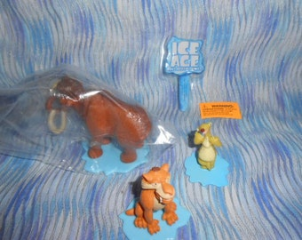 DecoPac Ice Age Continental Drift-Cake Topper-Still In Bag