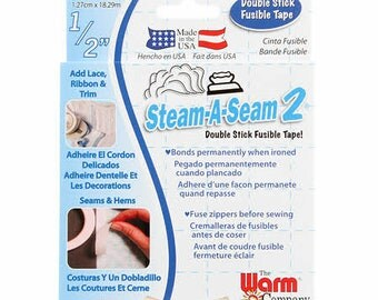 "Steam a Seam 2 - 1/2"" x 20 yds double stick fusible tape"