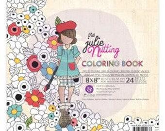 Julie Nutting Coloring book, dolls designed by Julie Nutting  i.c. with Prima Marketing.
