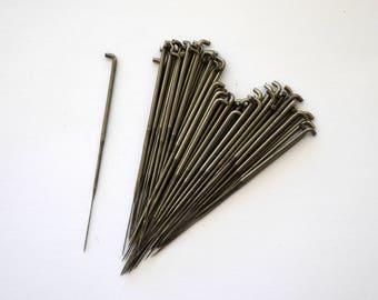 BULK FELTING NEEDLES / Fifty #38 Star Needles / Star Felting Needles / Wholesale Felting Needles / Needle Felting Needles / Purple Moose
