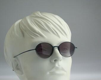 Silhouette M2801  / 90s Vintage sunglasses / NOS / Lightweight round eyewear