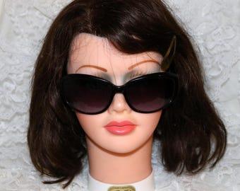 Vintage Cole Haan Sunglasses - C677  10  60[]18-127 - Gray Lenses - Black Frames - 1990s