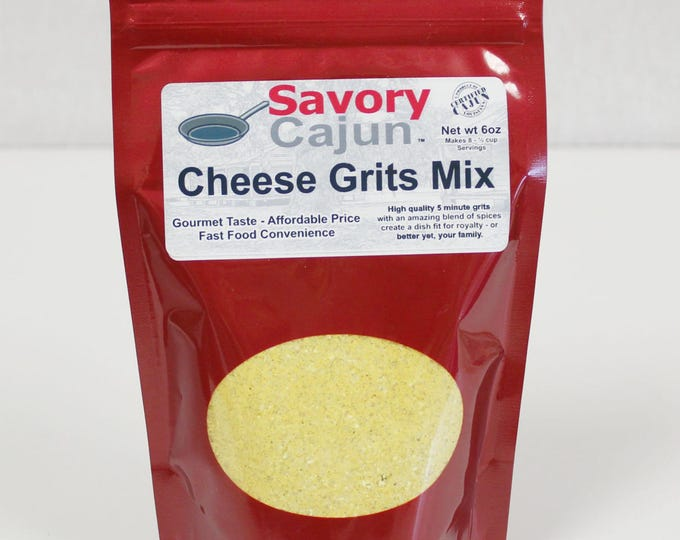 Cajun Cheese Grits Mix Quick Meal