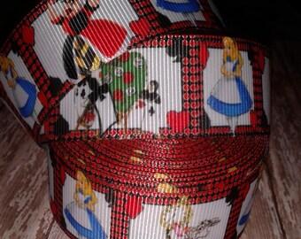 Alice in Wonderland Grosgrain Ribbon