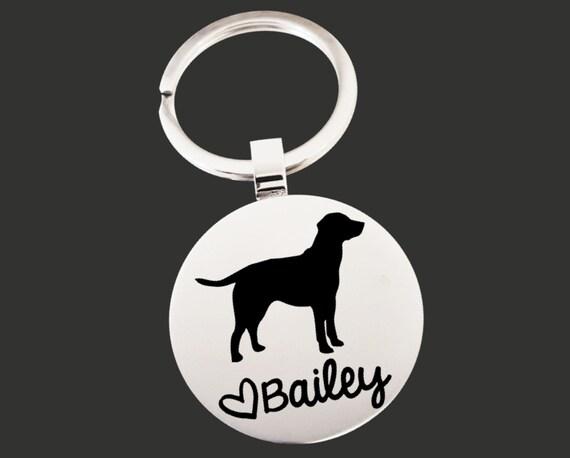 Dog Keychain | Dog Key Chain | Dog Lover Gift | Personalized Dog Keychain | Custom Dog Keychain | Korena Loves