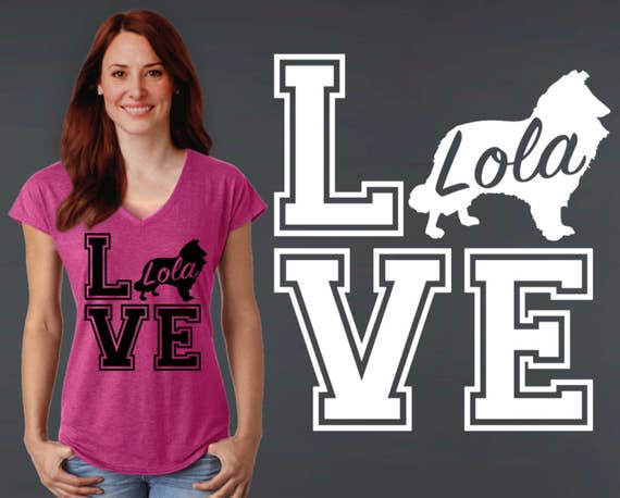Collie | Collie Shirt | Collie Gifts | Dog Shirt | Dog Lover Gift | Personalized T-shirts | Korena Loves
