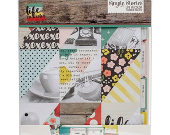 Simple Stories - Sn@p! Planner Set 6inX8in - Life In Color