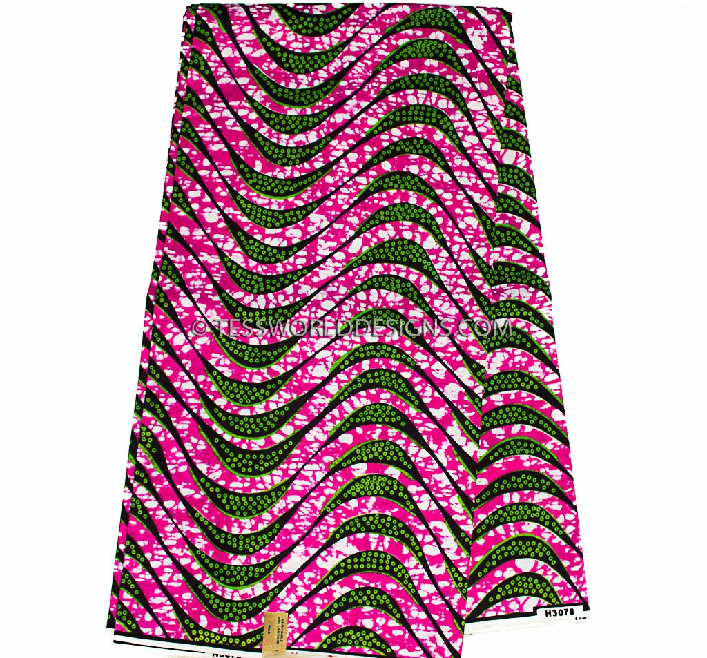 ankara fabric fuchsia wholesale fabric wax print fabric