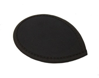 Black Teardrop Fascinator Hat Base with Hair Clips - 15 Colors Available