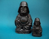 Free Shipping!! Darth Vader Buddha, solid resin 4inch figure, character.