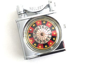 1950's Japanese ATC Roulette Novelty Pocket Lighter