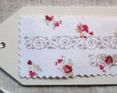 ANKE APPENZELLER  Custom Listing for 2 Linen and lace craft curtains