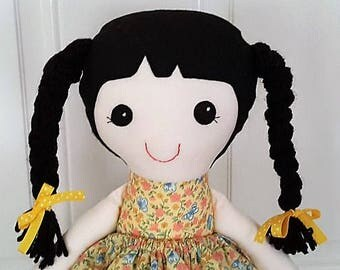 Evie - 20 inch cloth doll