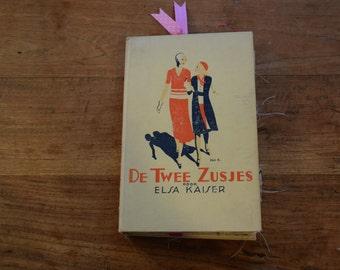 OOAK JunkJournal De Twee Zusjes junque journal notebook