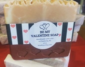 Be My Valentine Handmade Soap - Cold Process, All Natural