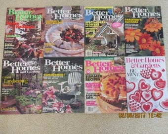 Vintage Better Homes and Gardens Magazines c1992, 93 and 94
