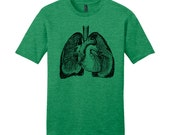 Science Shirt Science Teacher Gifts Funny TShirt Anatomy Shirt Gift for Med School Graduation Gifts for Him Gifts for Her Funny Shirt Lungs