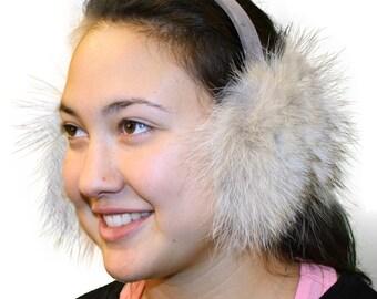 Glacier Wear Coyote Fur Ear Muffs