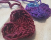 Crochet Hearts - ACLU Donation Item