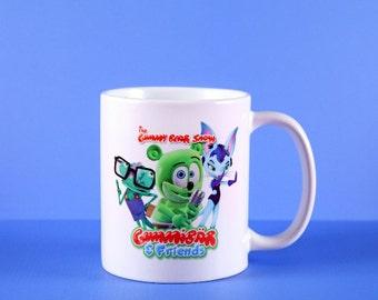 Limited Edition: Gummibär & Friends 11oz Mug ~ The Gummy Bear ~ Ceramic