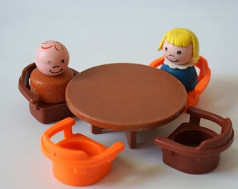 Vintage Fisher Price Little People Kitchen Table