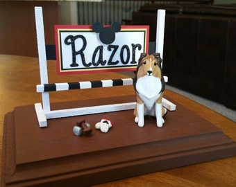 GIFT CERTIFICATE Custom Obedience Dog Sculpture Using Your Photos