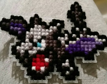 Aerodactyl Cross-Stitch Keychain/Wall Hanging