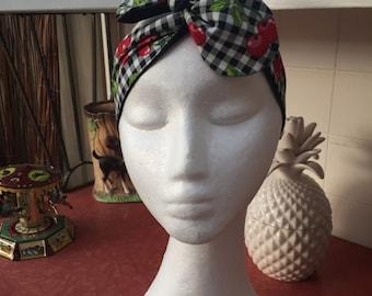 Cherry headband / wrap