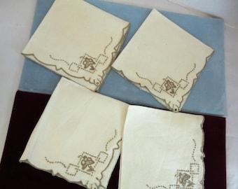 Vintage Table Napkins
