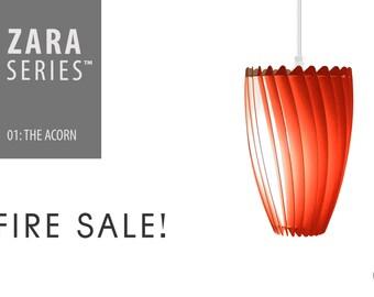 HOLIDAY SALE - ZARA Series™ Original Acorn Lamp Kit