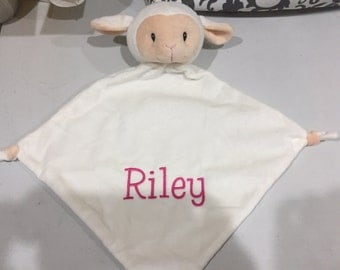 Personalized Lovey  blanket  Baby Gifts