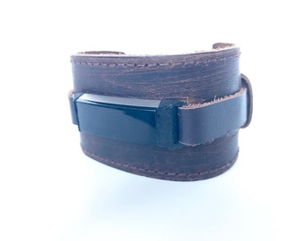 Leather Cuff for Fitbit Alta