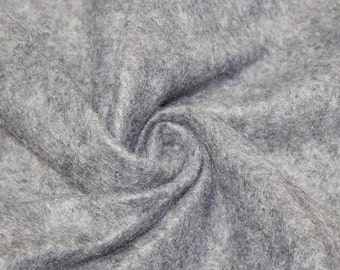 Heather Gray Acrylic Craft Felt Fabric By the Yard Style 3009