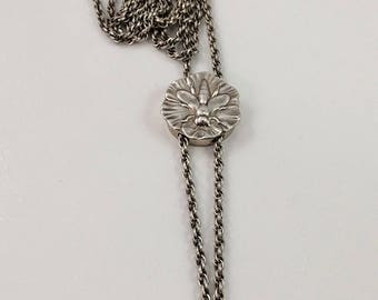 Fabulous Victorian Art Nouveau Sterling Silver Insect Watch Chain Circa 1895