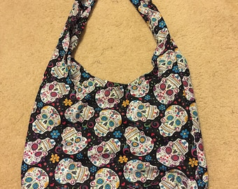 Day of  the Dead Hobo Bag